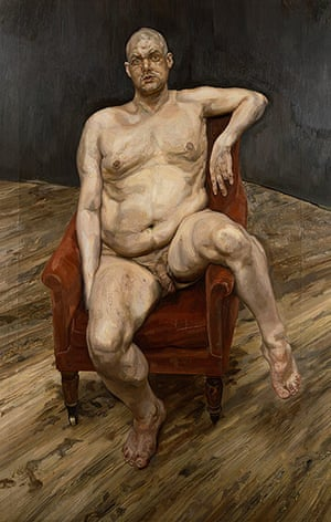 Lucian Freud at NPG: Lucian Freud at National Portrait Gallery - Leigh Bowery