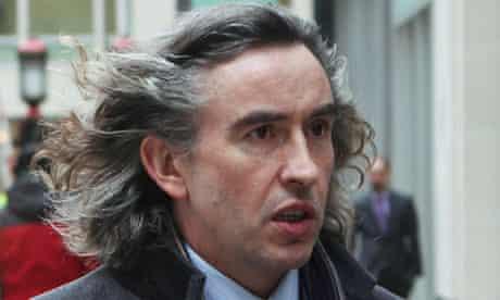 Steve Coogan leaves the high court