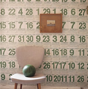 DIY style ideas: Chinese calendar walls