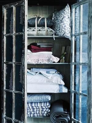 DIY style ideas: Linen closet