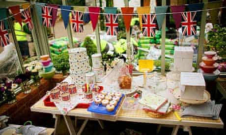 Traditional British bake sale