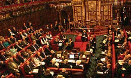 The House of Lords in session