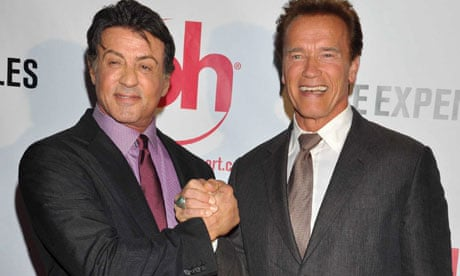 Schwarzenegger and Stallone join forces for The Tomb ...  Schwarzenegger ...