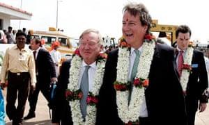 David Cameron on India visit