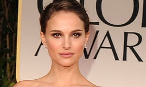 Natalie Portman arrives at the Annual Golden Globe Awards in January.