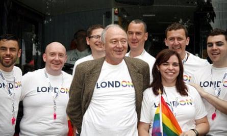 Ken Livingstone at Pride, London 30/6/07
