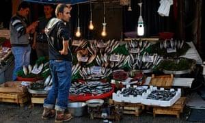 Karakoey fish market, Istanbul, Turkey