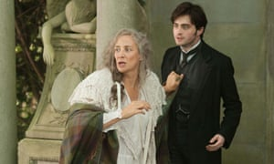 Janet McTeer with Daniel Radcliffe in The Woman in Black