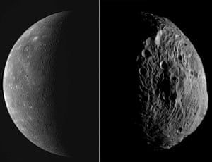 Month in space: Mercury  and Vesta