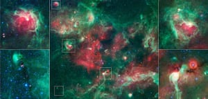 Month in space: In this new action-packed view of the Cygnus X star-forming region