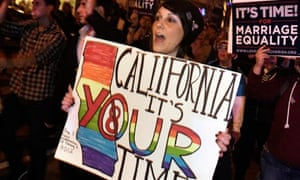People celebrate ruling on Proposition 8