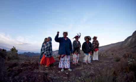 Huichol people fight mining development