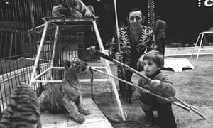Wild animals banned from circuses