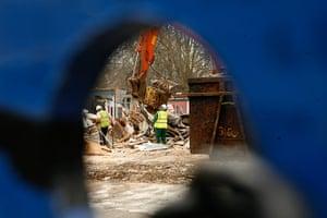 Occupy Finsbury Square: Demolished School of Ideas in Islington
