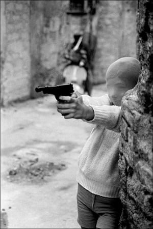 Mafia: Boy with a gun by Letizia Battaglia