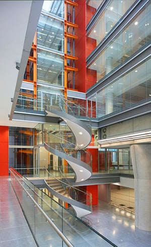 Broadcasting House: The atrium in Broadcasting house