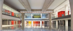 Broadcasting House: The newsroom in Broadcasting house