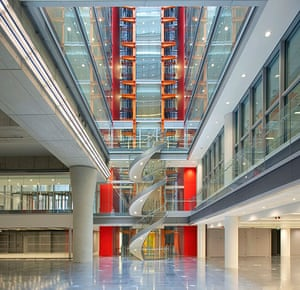 Broadcasting House: Interior view of the new BBC Broadcasting House