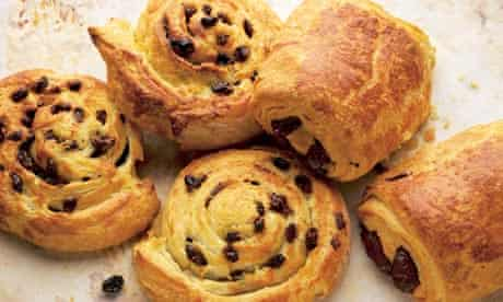 Dan Lepard's raisin danish recipe