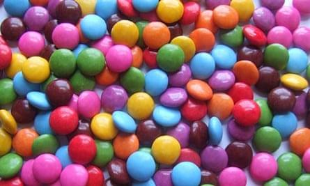 Lots of Nestlé Smarties