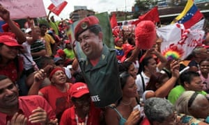 Thousands of Chávez supporters held demonstrations