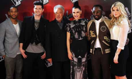 The Voice judges and hosts