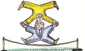 Andrzej Krauze coalition illustration