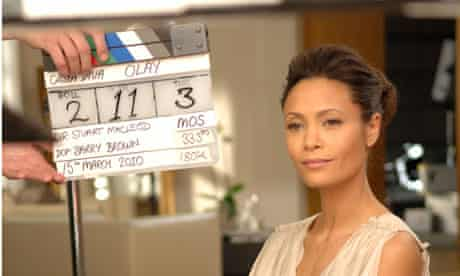 Thandie Newton, the face of the Olay Total Effects range