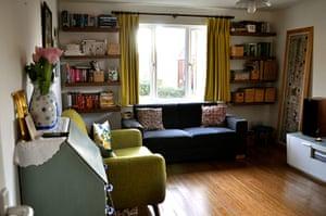 interior experts homes: Huma Qureshi's lounge wide shot