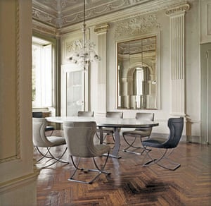 Al-Assad's shopping: Baxter Classic table from Domain furniture