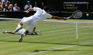 TJ SJA: Jo-Wilfried Tsonga versus Novak Djokovic at Wimbledon