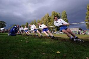 TJ SJA: The Northern Ireland Tug of War team take the strain