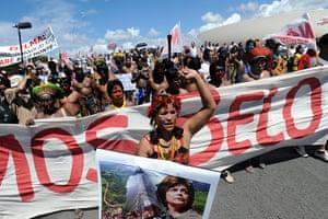 Dams: Protest against Brazil's Belo Monte dam