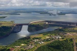 Dams: Itaipu Binational dam
