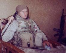 Ross Caputi in Fallujah, Iraq, 2004