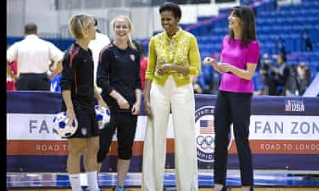 Michelle Obama and Samantha Cameron at Youth Event, Washington D.C, America - 13 Mar 2012