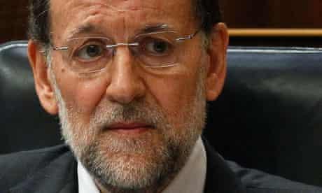 Spain's Prime Minister Mariano Rajoy, Ecofin
