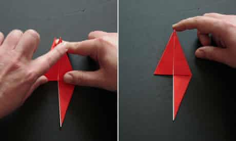 How to Fold a simple origami hummingbird « Origami :: WonderHowTo | 276x460