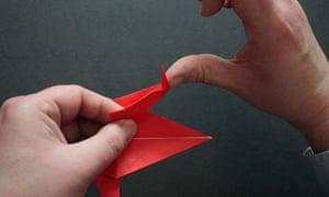 Origami step ten