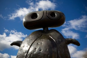 Miro in Yorkshire: Miro Exhibition at Yorkshire Sculpture Park - Personnage, 1970