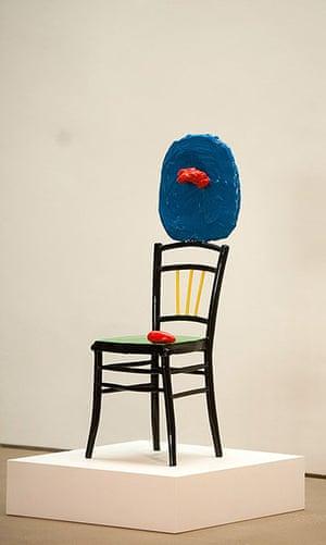 Miro in Yorkshire: Miro at the Yorkshire Sculpture Park - Femme Assise et Enfant