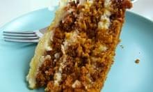 Claire Clark recipe carrot cake