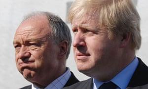 Ken Livingstone and Boris Johnson