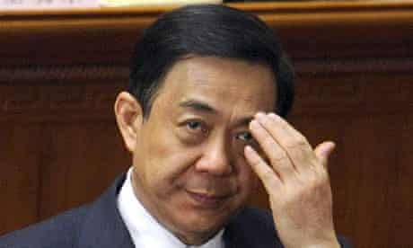 Bo Xilai has been removed as Chongqing party secretary by the Chinese regime
