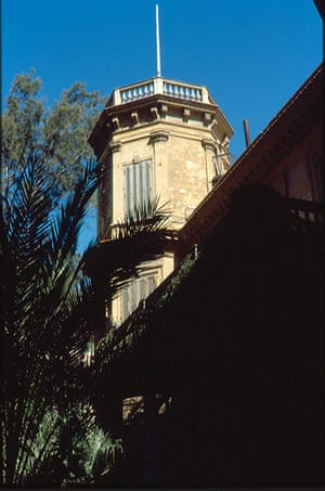 Alexandria City of Memory: Durrell's tower at the Ambron villa
