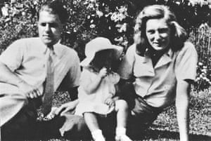 Alexandria City of Memory: Lawrence Durrell with his first wife Nancy Myers and baby Penelope