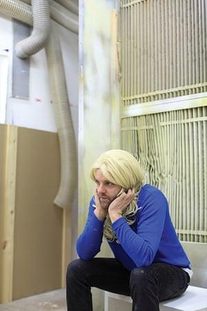 Artists: Gavin Turk in his studio