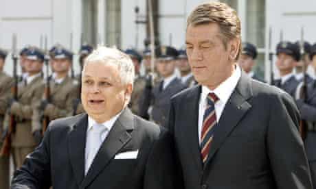 Lech Kaczynski and Viktor Yushchenko