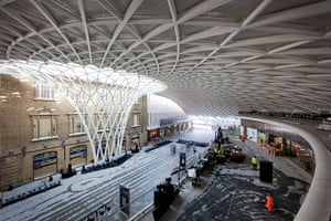 Kings Cross: The new concourse at Kings Cross station