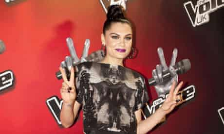Jessie J at the launch of The Voice